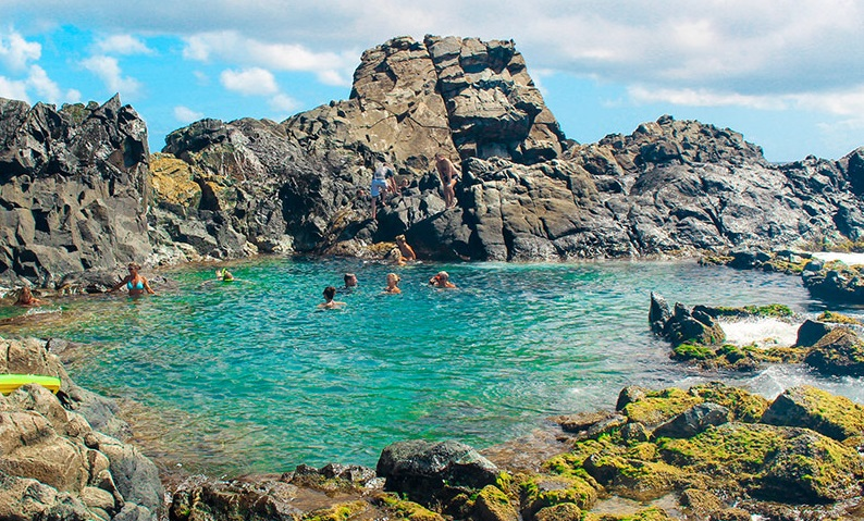 Escale à Aruba Natural Pool