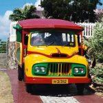 Escale à la Grenade bus créole