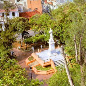 Escale Carthagène (Colombie) Le parc Fernández Madrid