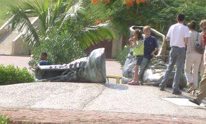 Escale Carthagène (Colombie) Monument des Zapatos Viejos (vieux souliers)