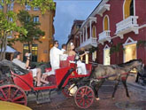 Escale Carthagène (Colombie) balade en calèche
