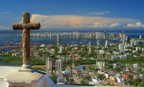 Escale Carthagène (Colombie) la ville
