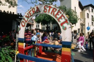 Escale à Los Angeles Olvera Street
