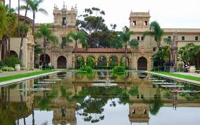 Escale à san diégo Parc Balboa