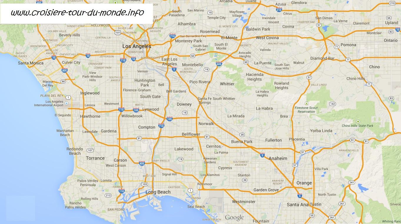 Pr parer son escale los angeles californie usa croisiere tour du - Office de tourisme los angeles ...