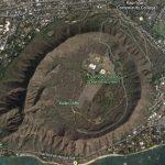 Escale à Honolulu Cratère de la tête de Diamant