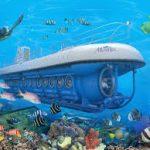 Escale à Honolulu  sous-marin Atlantis