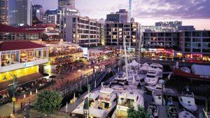 Escale Auckland Nouvelle-zelande Viaduct Harbour