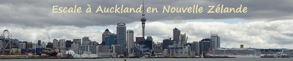 Escale à Auckland en Nouvelle Zélande