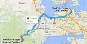 Escale Auckland Nouvelle-zelande itineraire Waitakere Ranges