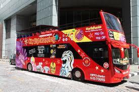 Bus touristique Singapour