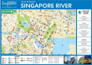 Carte Singapour River