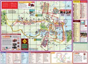 Carte bus touristique Singapour