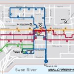 Carte bus zone gratuite Perth