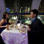 Singapour Diner a la grande roue