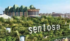 Singapour ile Sentosa