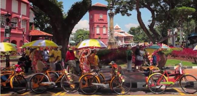 Escale à Malacca Malaisie