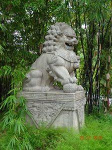 Croisière tour du monde Statue Singapour