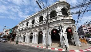 édifice sino-portugais Phuket