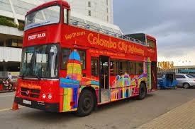 Bus touristique colombocitytours Colombo
