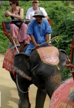 Safari Island balade en Elephant Phuket