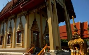 Temple Phra Tong Phuket