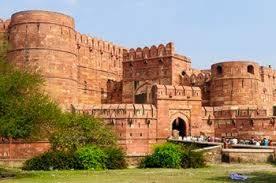 le fort Agra Inde