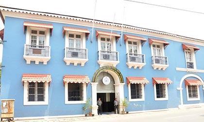 Le batiment du musée des douane de Goa
