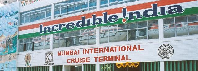 Le terminal de croisiere de Bombay