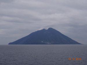 Le volcan Stromboli