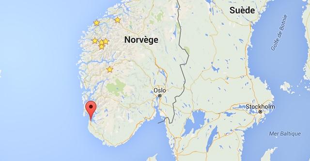 Localisation Stavenger