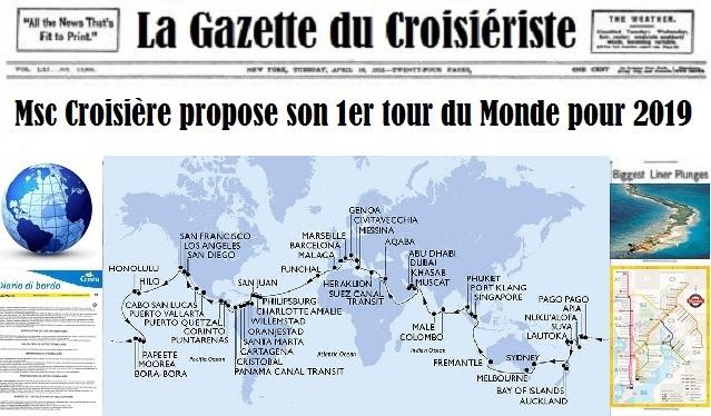 La Carte Du Monde 2019