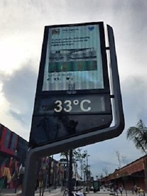 33° à Rio de Janeiro