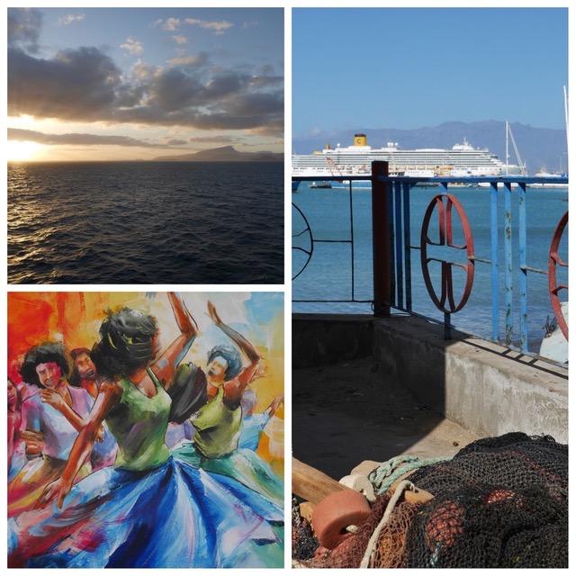 Croisière Tour du Monde Australe 2017 Escale à Mindelo Ile de São Vicente au Cap Vert