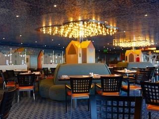 Croisière Tour du Monde Australe 2017 Restaurant pour le self service