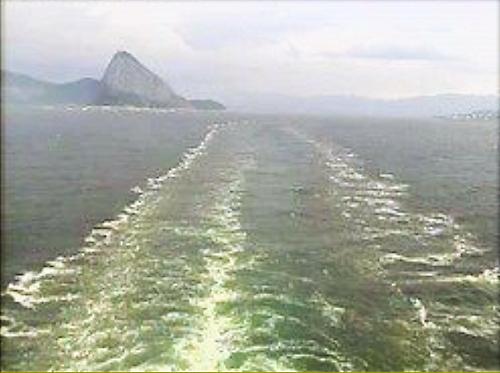 Croisière tour du monde Austral 2017 Le Costa Luminosa Quitte Rio de Janeiro