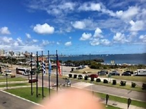 Croisière tour du monde Autral 2017 Escale à Punta Del Este Uruguay