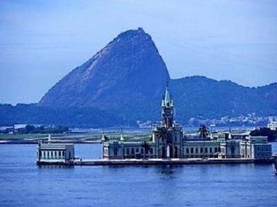 La croisière tour du monde austral 2017 de Claudine et Jean-Luc Palais Ilha Fiscal baie de Rio de Janeiro