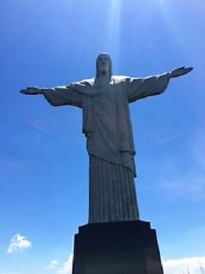 Le Corcovado à Rio de Janeiro