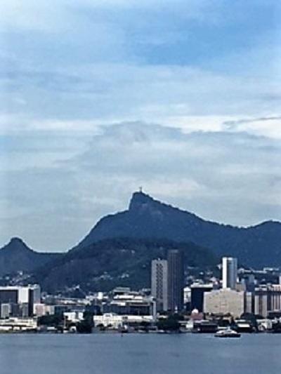 Vue sur La Baie de Rio de Janeiro