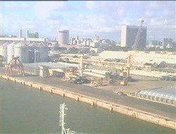 WebCam arrière du Costa Luminosa à 11H27