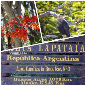 Croisière tour du monde Australe 2017 Escale de Claudine et Jean-luc à Ushuaïa