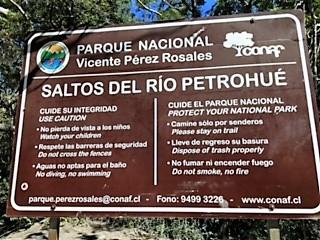 Croisière tour du monde Australe 2017 Jacques Charles Saltos Del Rio Petrohué excursion depuis PUERTO MONTT (Chili)
