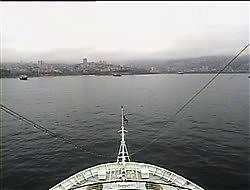 Croisière tour du monde Australe 2017 Webcam Costa Luminosa Escale à Valparaiso Chili