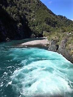 Croisière tour du monde Australe Jacques Charles excursion aux chutes de Petrohue Chili