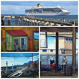 Des nouvelles des Passagers de la croisière tour du monde Austral 2017, TDM 32-33 escale à Punta Arenas par Claudine et Jean Luc.