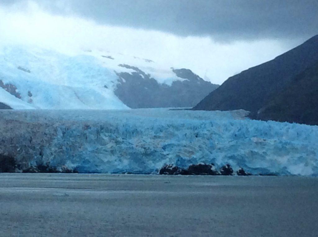 Croisière tour du monde 2017 Le Glacier d'Almalia