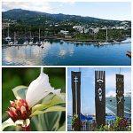 Jean-Luc et Claudine 51ème jour du tour du monde le Costa Luminosa en escale à Papeete (Tahiti)