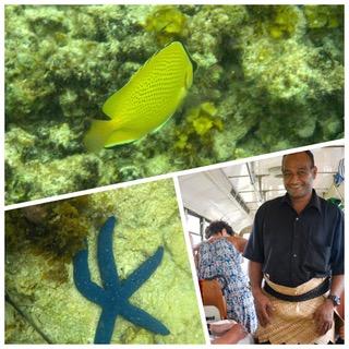 Claudine et Jean-Luc 56 ème jour de la croisière tour du monde Australe 2017 du Costa Luminosa escale à à Nuku Alofa au Tonga