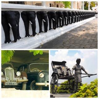 Claudine et Jean-Luc en escale à Colombo au Sri Lanka